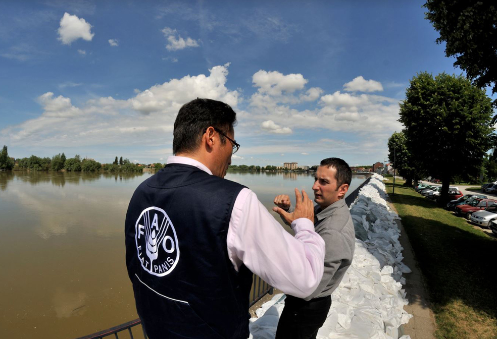 FAO helps Serbia in data-driven flood recovery