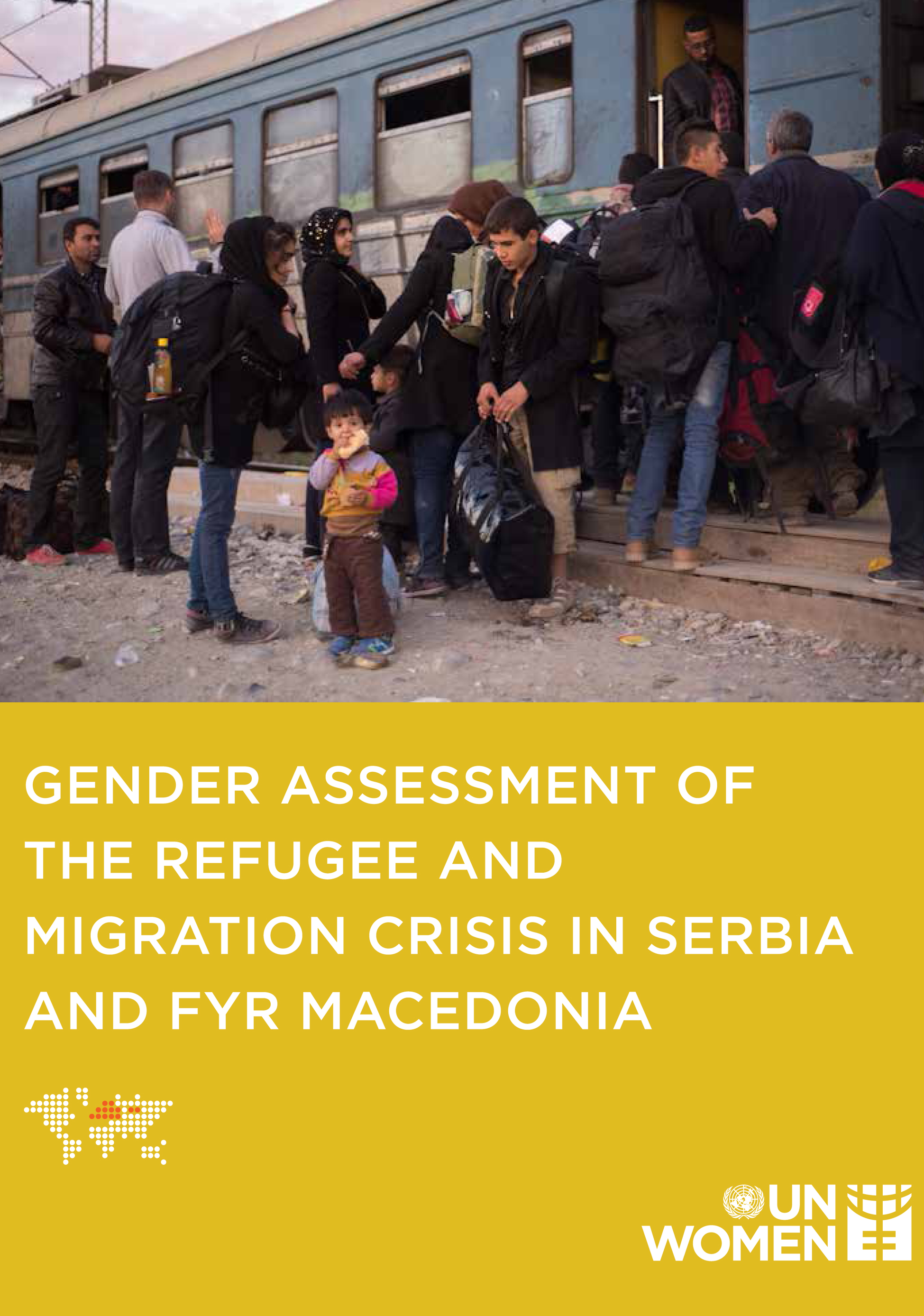 Gender Assessment of the Refugee and Migration Crisis in Serbia and North Macedonia