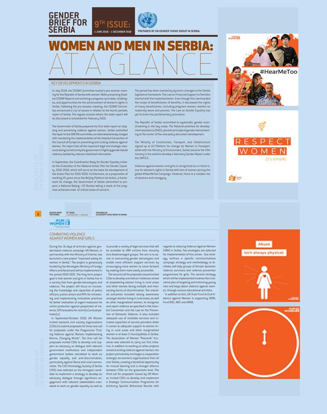 Gender Brief for Serbia - vol. 9