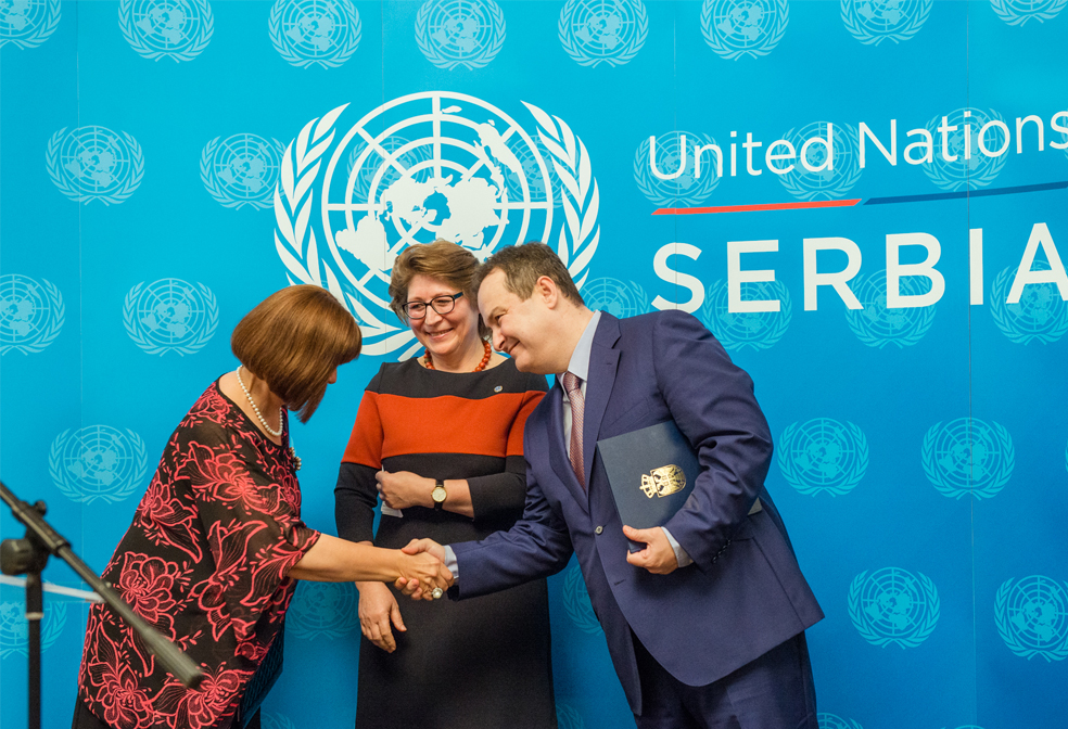 The Government of the Republic of Serbia and the United Nations in Serbia mark the 71st anniversary of the UN in the spirit of joint commitment to the realization of UN Sustainable Development Goals
