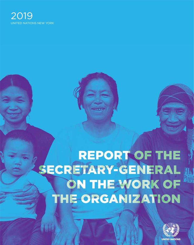 Report of the Secretary-General on the Work of the Organization - 2019