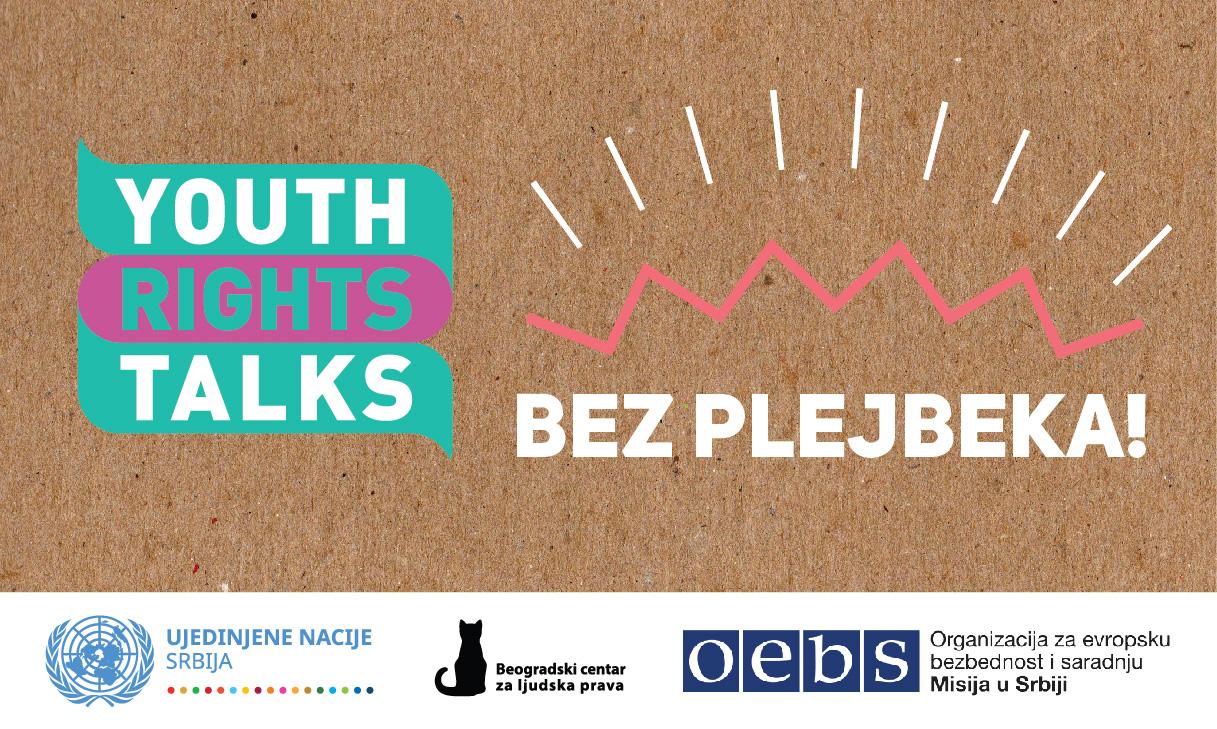 YOUTH RIGHTS TALKS 2019: #BezPlejbeka