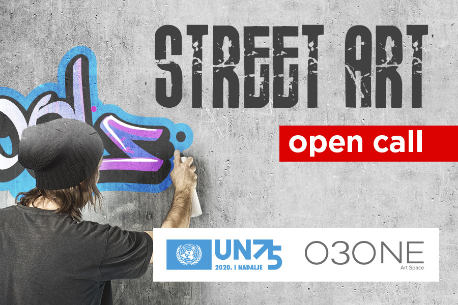 UN in Serbia and the O3one Gallery announce a competition for muralists and street artists on the occasion of the 75th anniversary of the UN