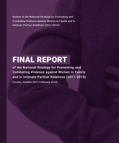 Final Report of the National Strategy for Preventing and Combating Violence against Women in Family and in Intimate Partner Relations