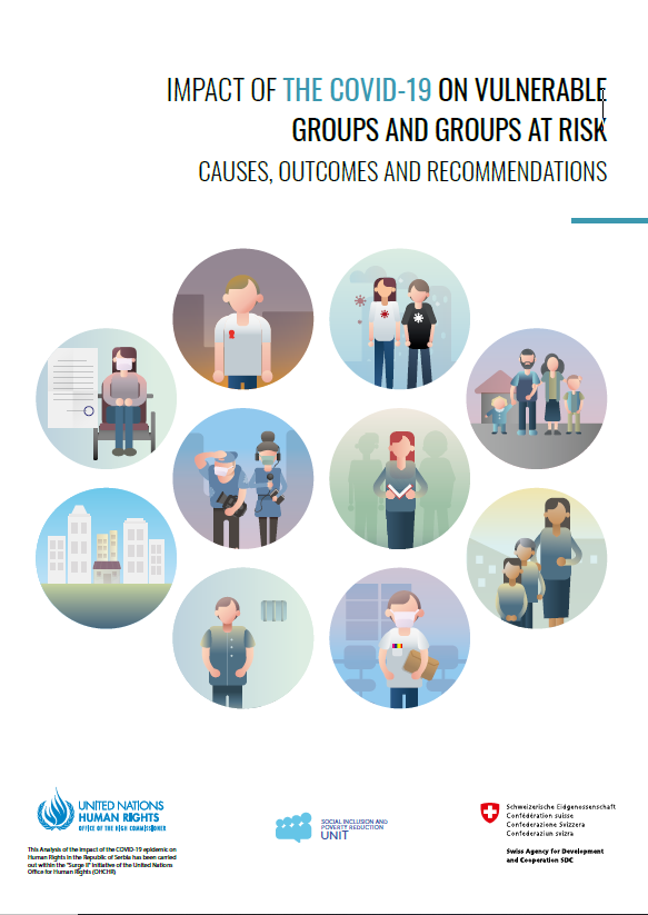 Impact of the COVID19 on vulnerable groups and groups at risk causes, outcomes and recommendations