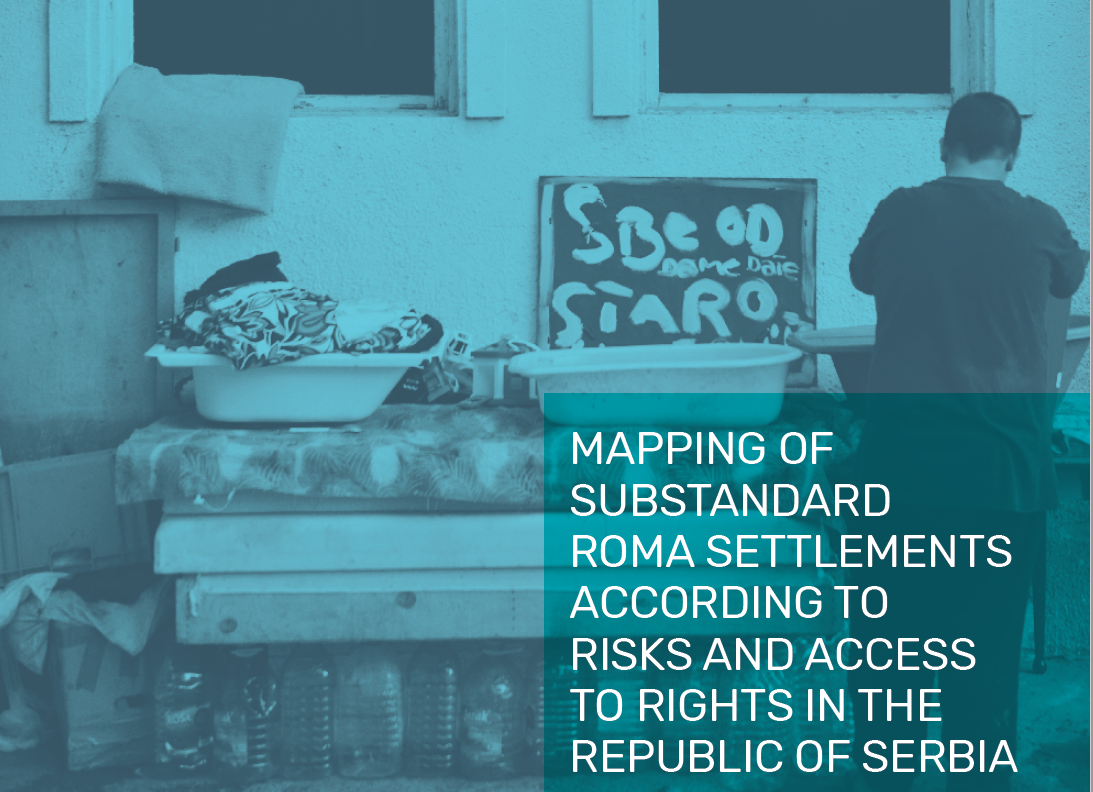 Almost 20% of the residents of the Roma substandard settlements mapped in Serbia have no or irregular access to safe drinking water, while over 55% have no or irregular access to sewer networks – shows latest UN/SIPRU assessment