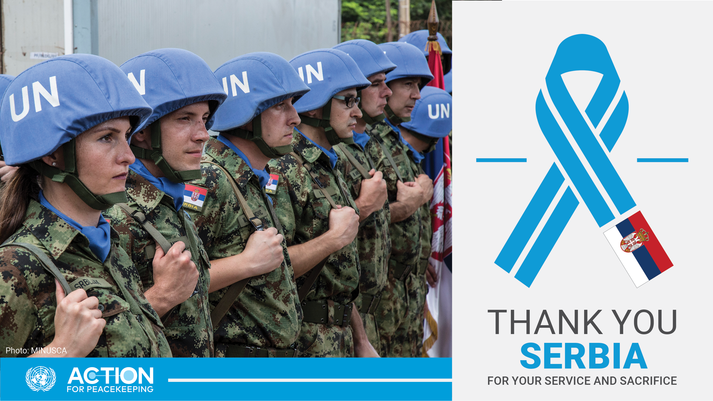 United Nations thanks Serbia for its contribution to peacekeeping