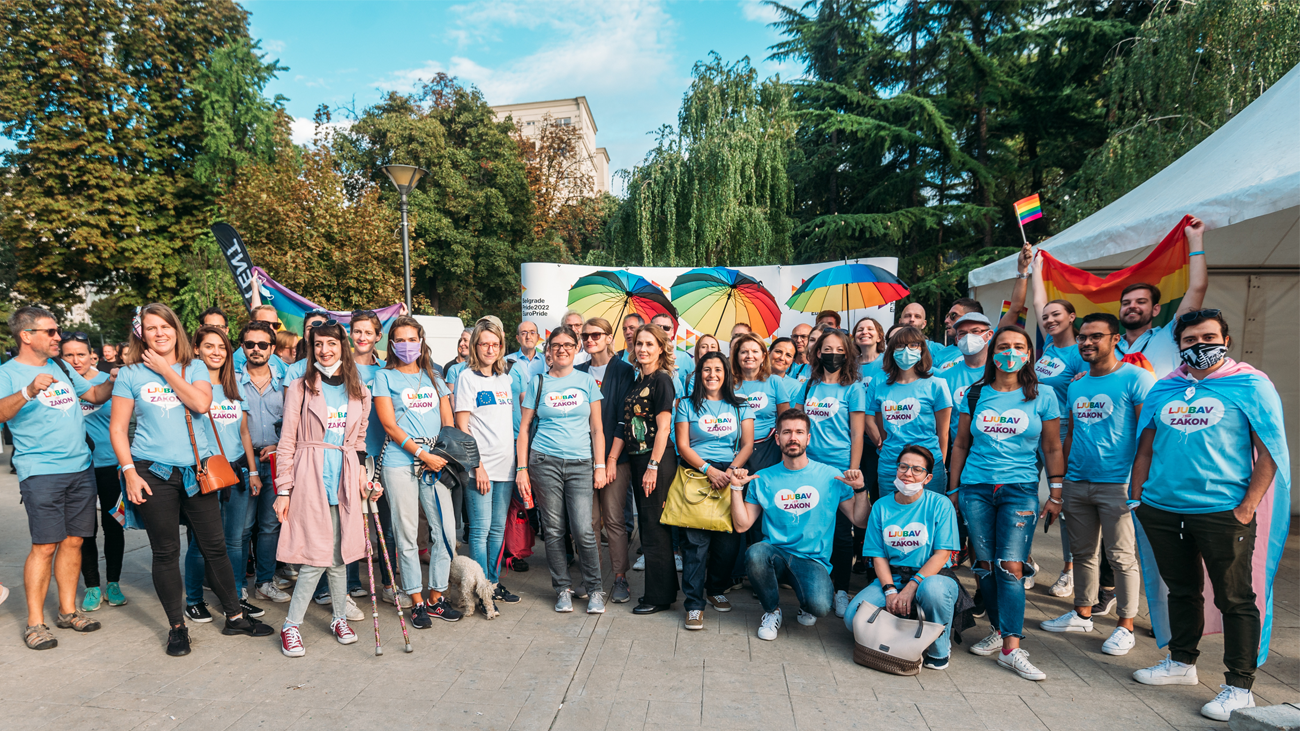 Statement by12 international organizations and diplomatic missions in Serbia on the occasion of Belgrade Pride 2021