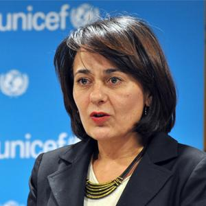 Jadranka Milanovic, UNICEF Communications Officer